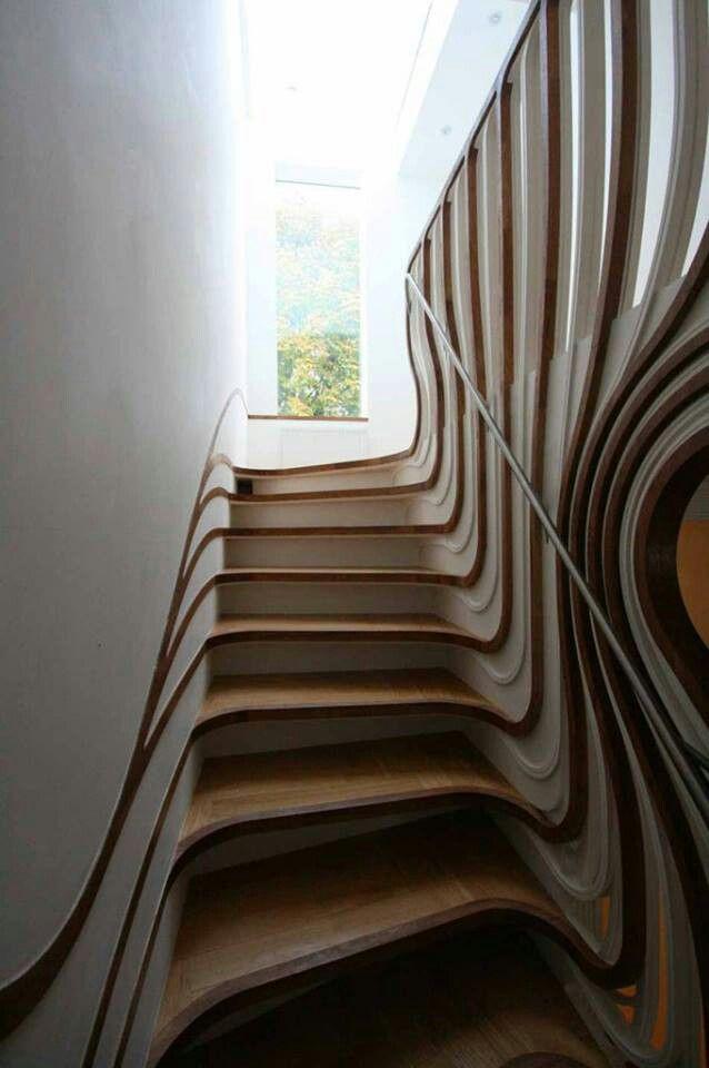 Amor por las escaleras