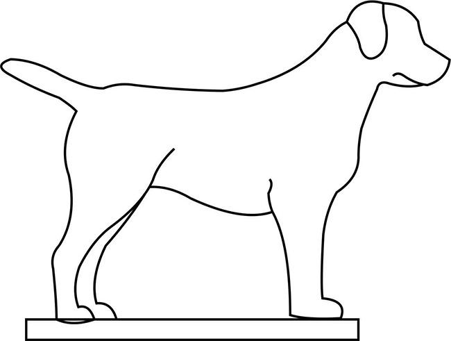 Dog Template - Animal Templates