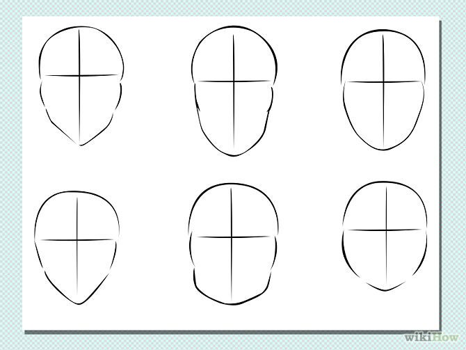 How To Draw Comic Drawings Of Female Faces Drawing Face Shapes Anime Face Shapes Drawing Tutorial Face