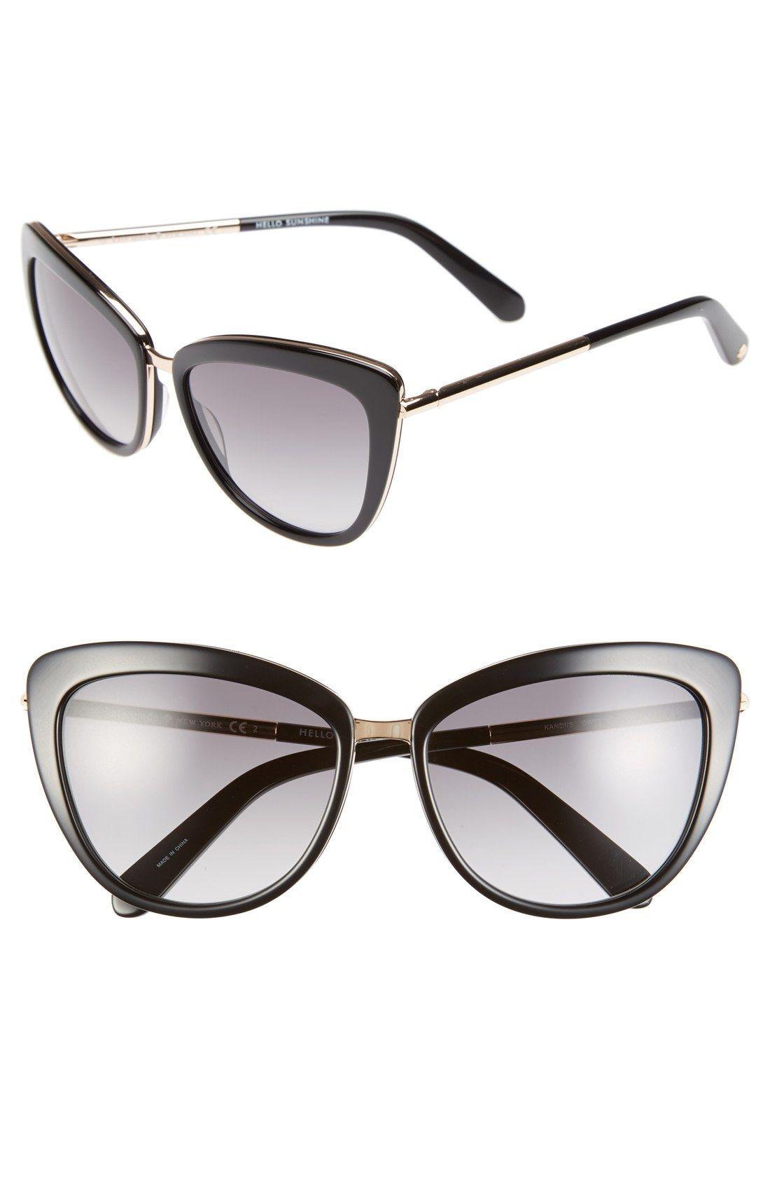 f5ea42b3401b6 kate spade new york  kandi  56mm cat eye sunglasses