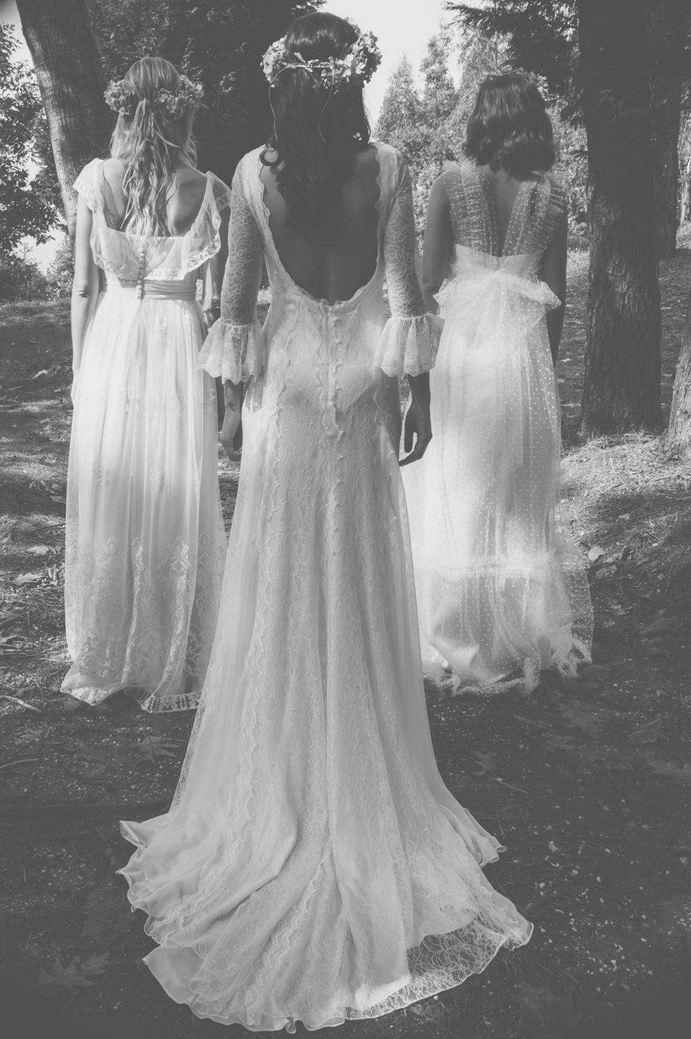 Vestido de novia boho bride boho dress photo melissa adams