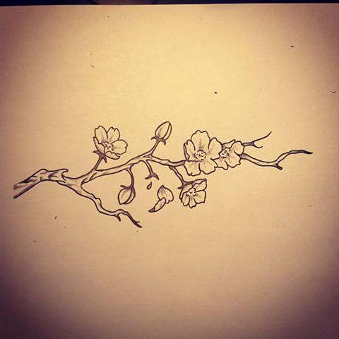 tatouage fleur de cerisier recherche google tattoo lydia pinterest tatouage fleurs de. Black Bedroom Furniture Sets. Home Design Ideas