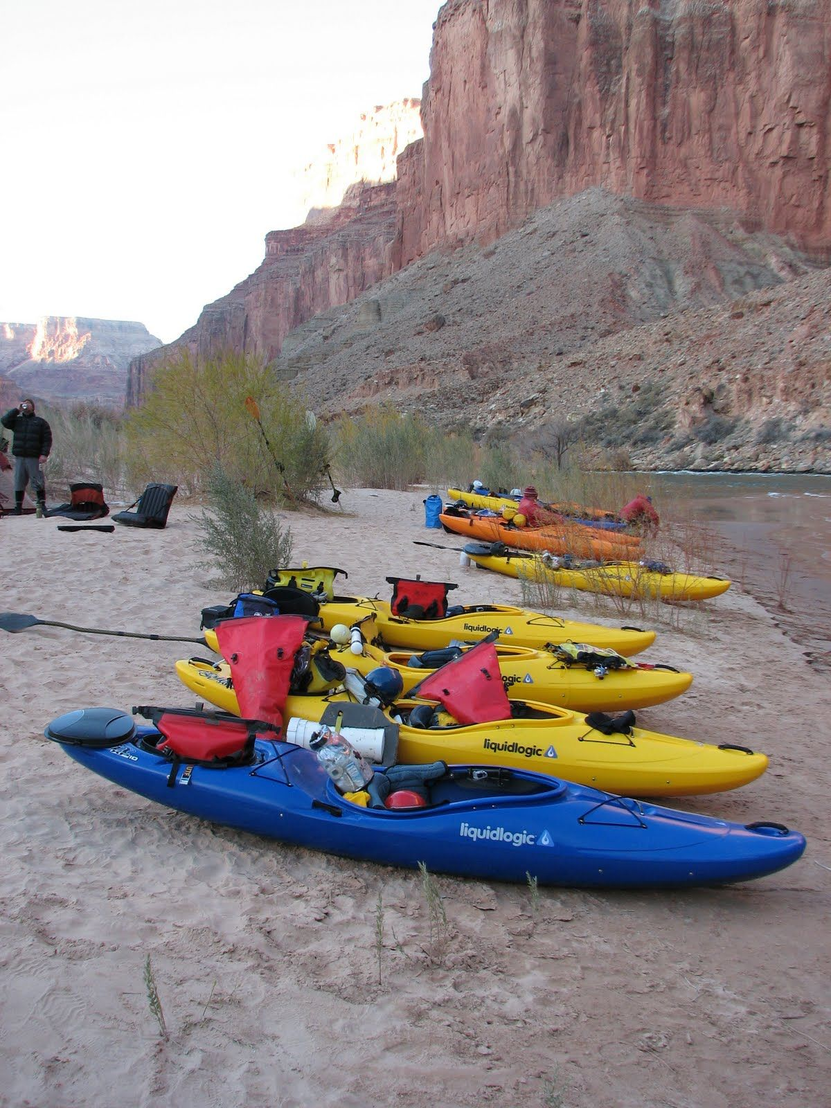 Self support kayak camping kayaks pinterest trips for Fish camping boat