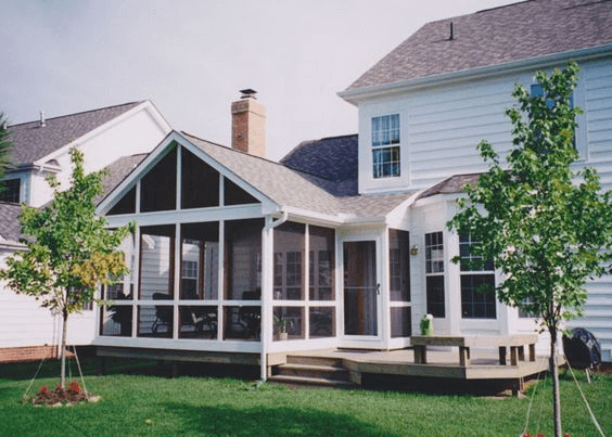 Shed Roof Screened Porch Popular Models And Tips Porch Roof Design Patio Design Building A Porch