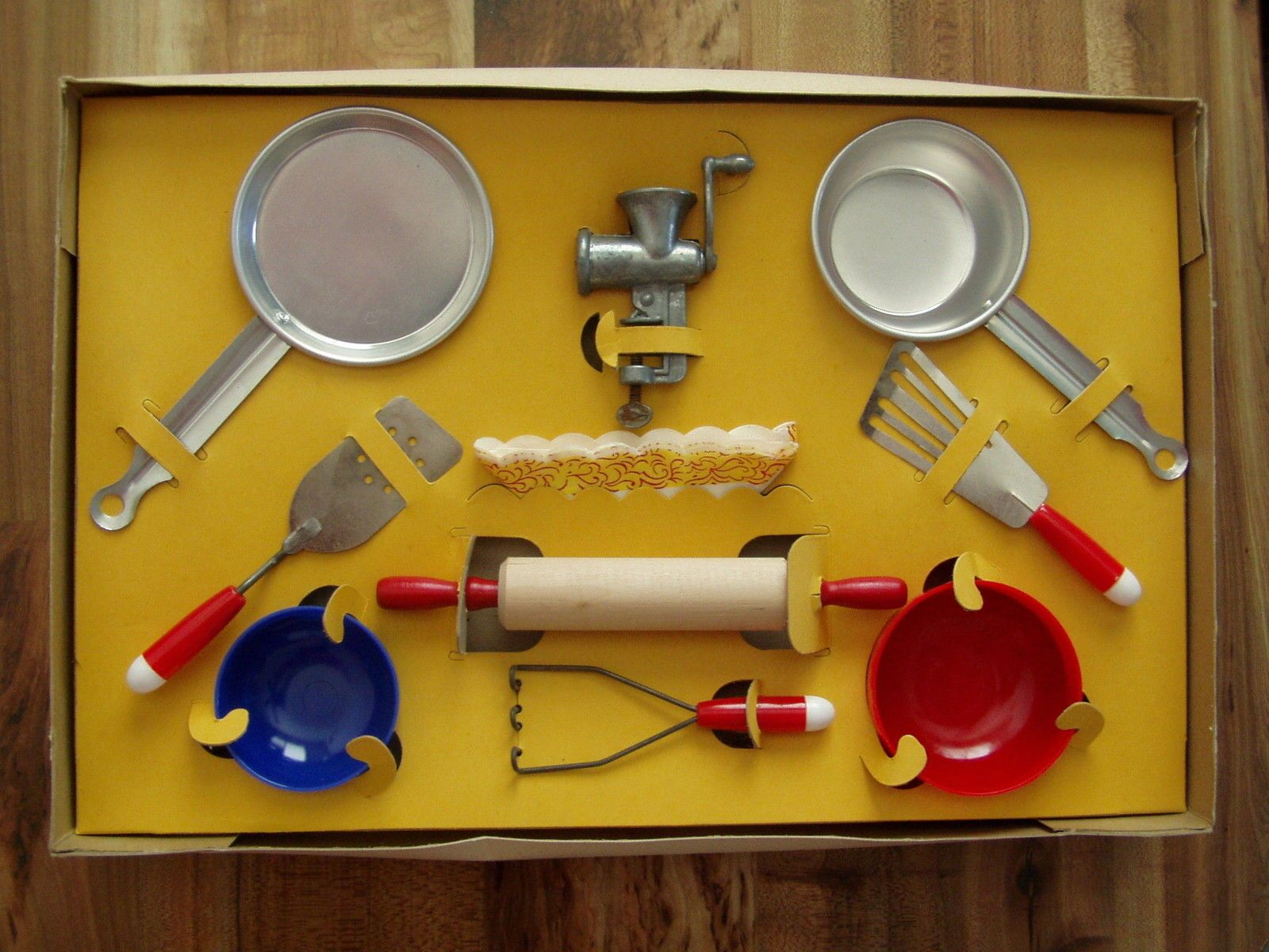 Vintage 1950s Little Homemaker Cooking Set Play Set with