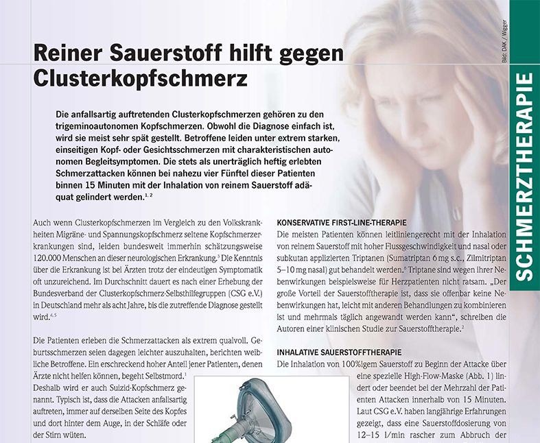 clusterkopfschmerz