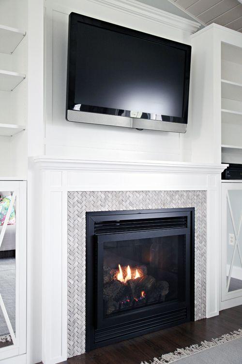 Diy Fireplace Built In Tutorial Diy Fireplace Fireplace Remodel