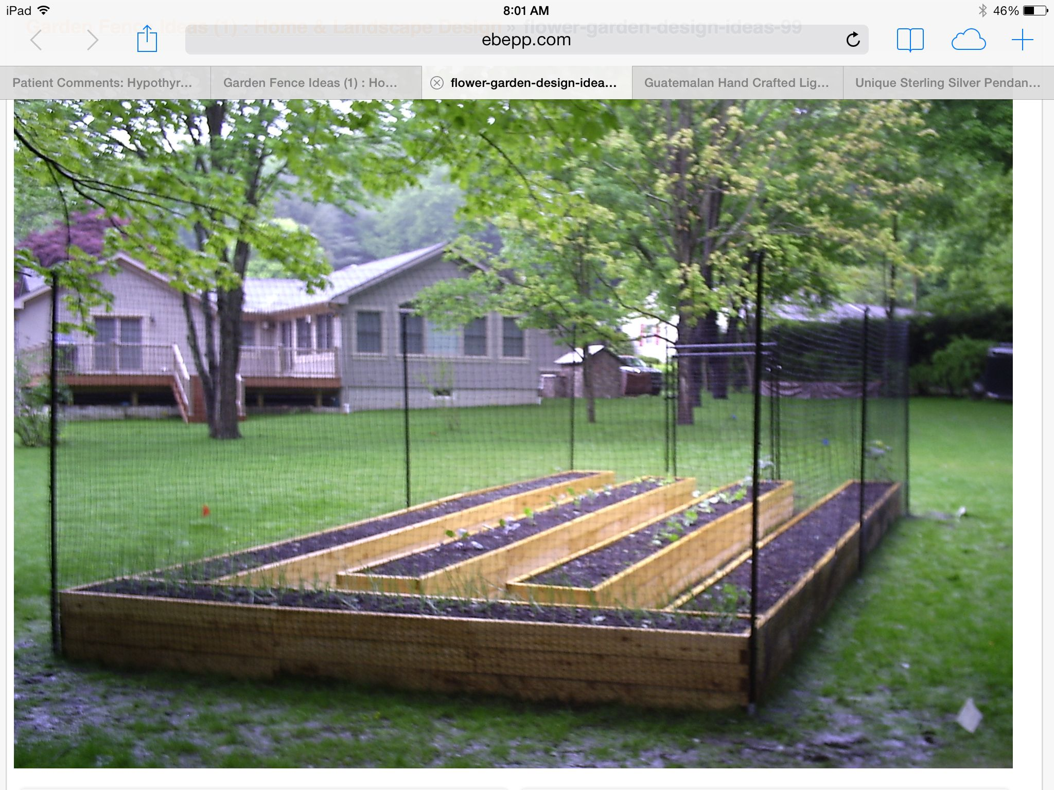 Narrow Beds With Walkway Betweed