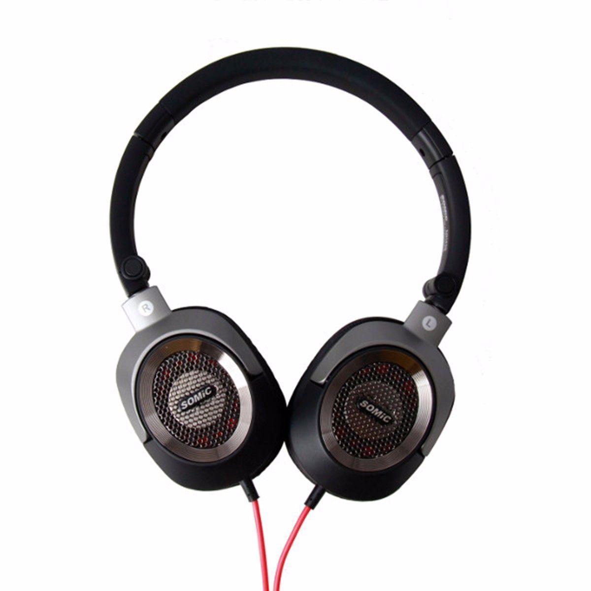 100 Original Somic Mh438 3 5mm Aux Stereo Headphone Headset With Mic Wired Head Mounted Music Pc Computer Headphone Shtekery Besprovodnye Naushniki Naushniki