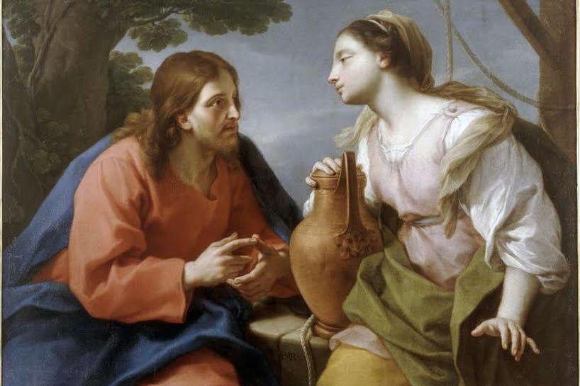 Jesús y la Magdalena