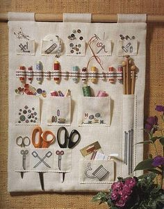 Maybe My Godmother And I Should Start W This My Sewing Basket Will