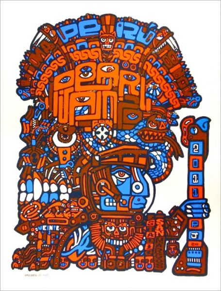 2011 PEARL JAM 18/11 LIMA POSTER