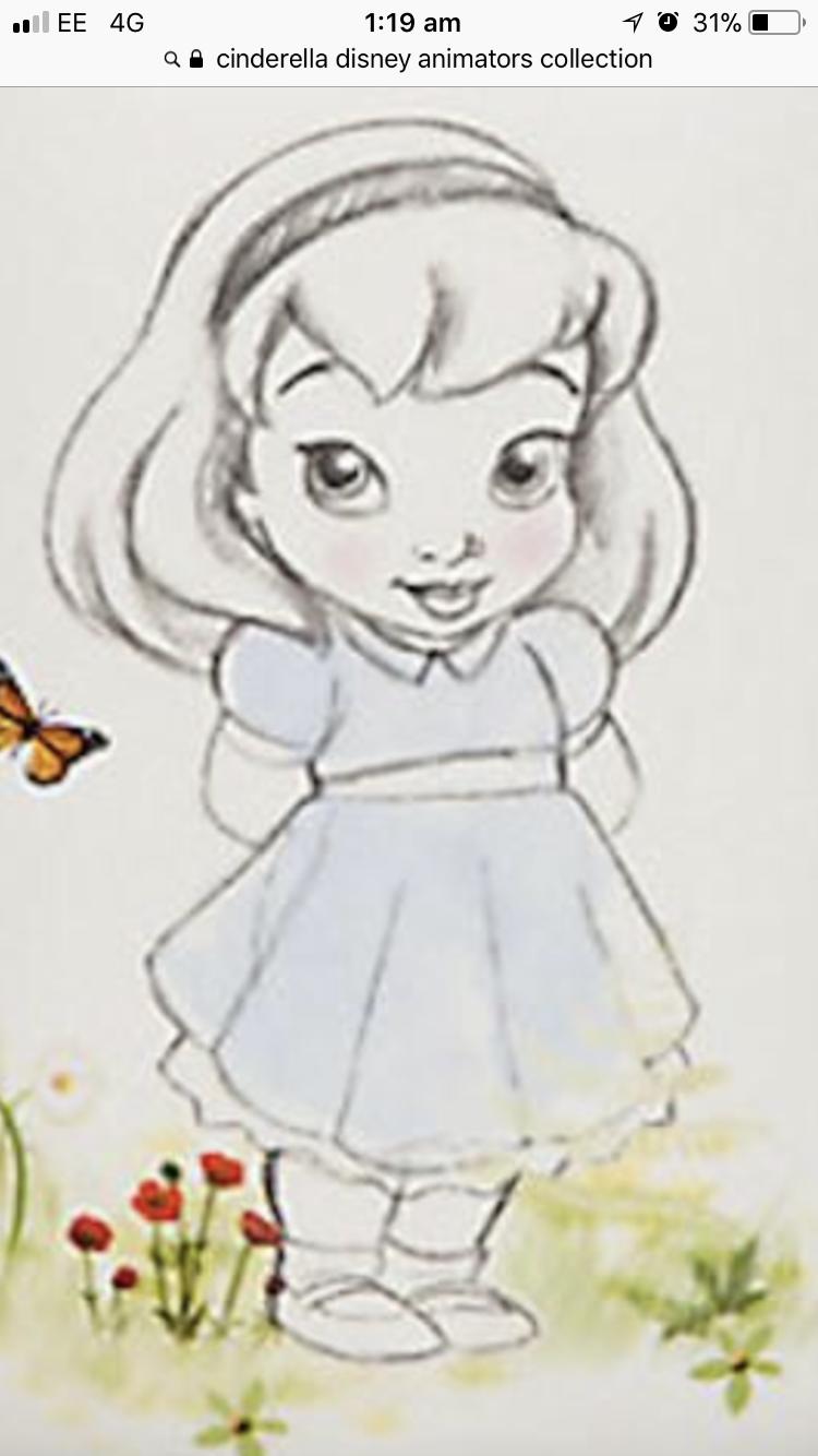 Cinderella Disney animators collection  Disney animators