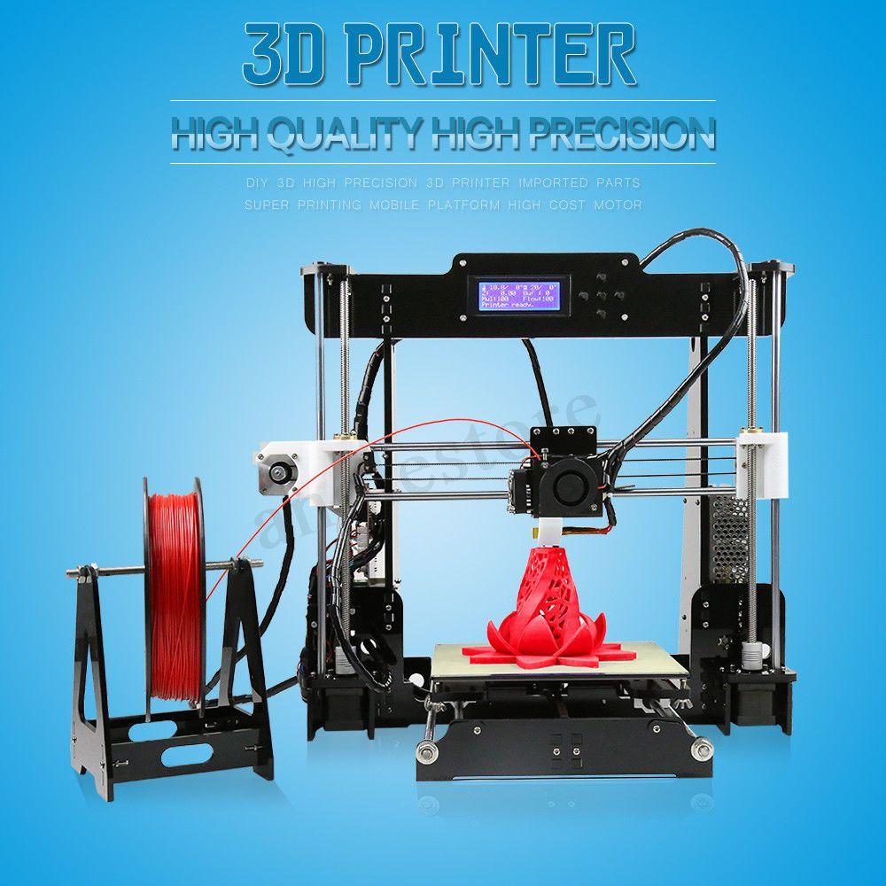 A8 3D Printer High Precision Reprap i3 DIY Kit PLA