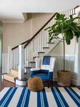 My work: Shinglestyle beach house - Beach Style - Entry - providence - by Kate Jackson Design