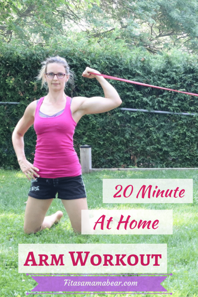 Use this fast and effective at home arm workout to stay fit and healthy. Strengthen, tone and define...