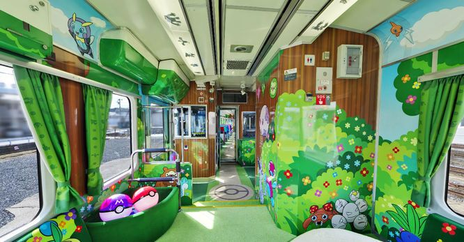 Best Japan S Pokemon Train Is The Coolest Train You Ll Ever See 640 x 480