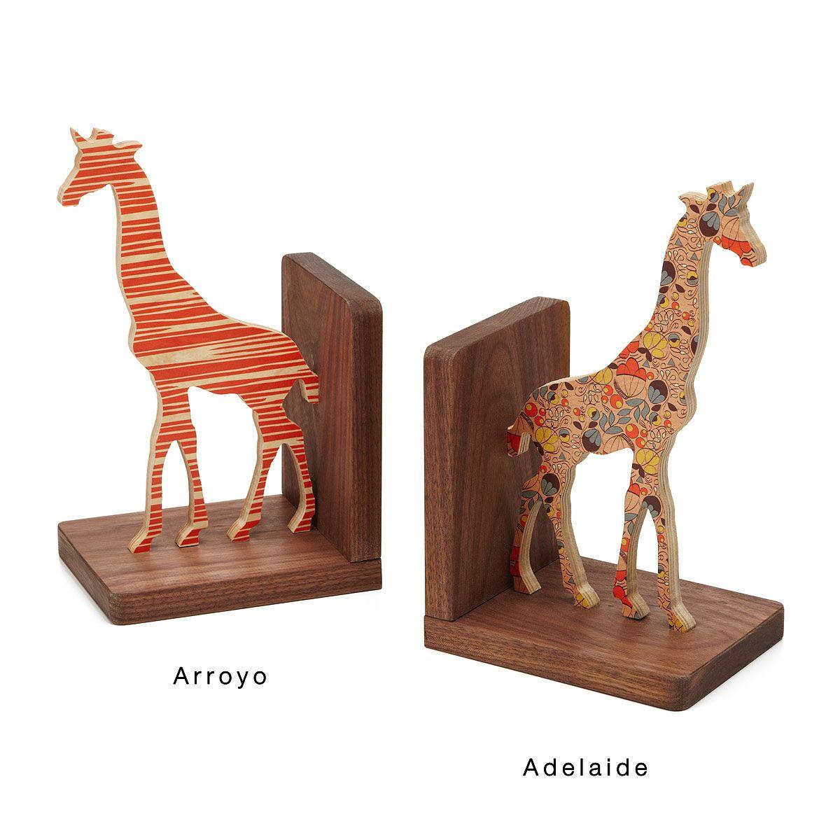 Giraffe Bookends
