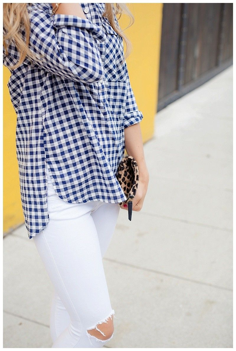 Gingham and this laid back style on Blush & Camo today! Pin now and read
