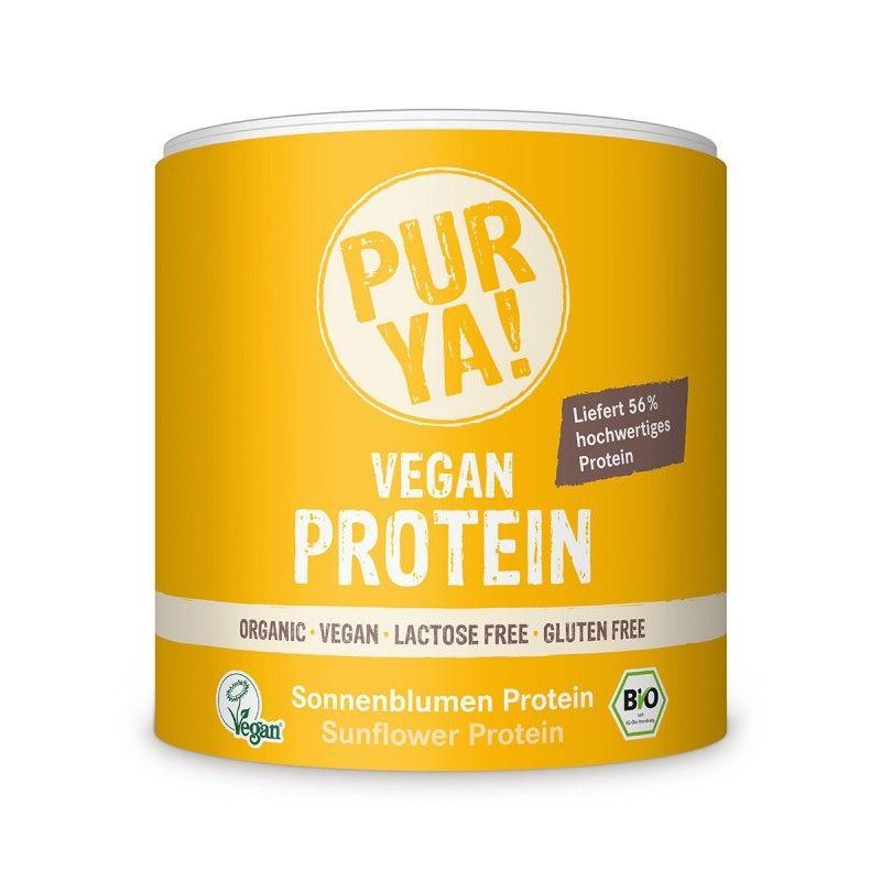 PUR YA! Zonnebloempit Raw Vegan Organic proteïne (250 gram)