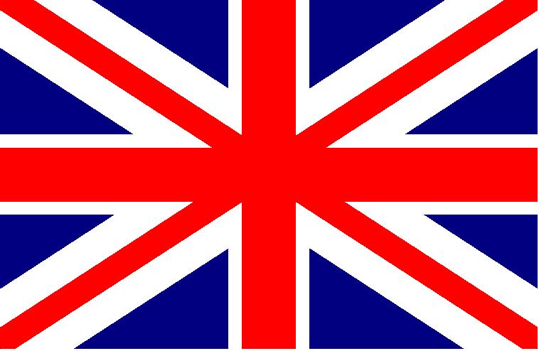 Resultado de imagen para bandera ingles