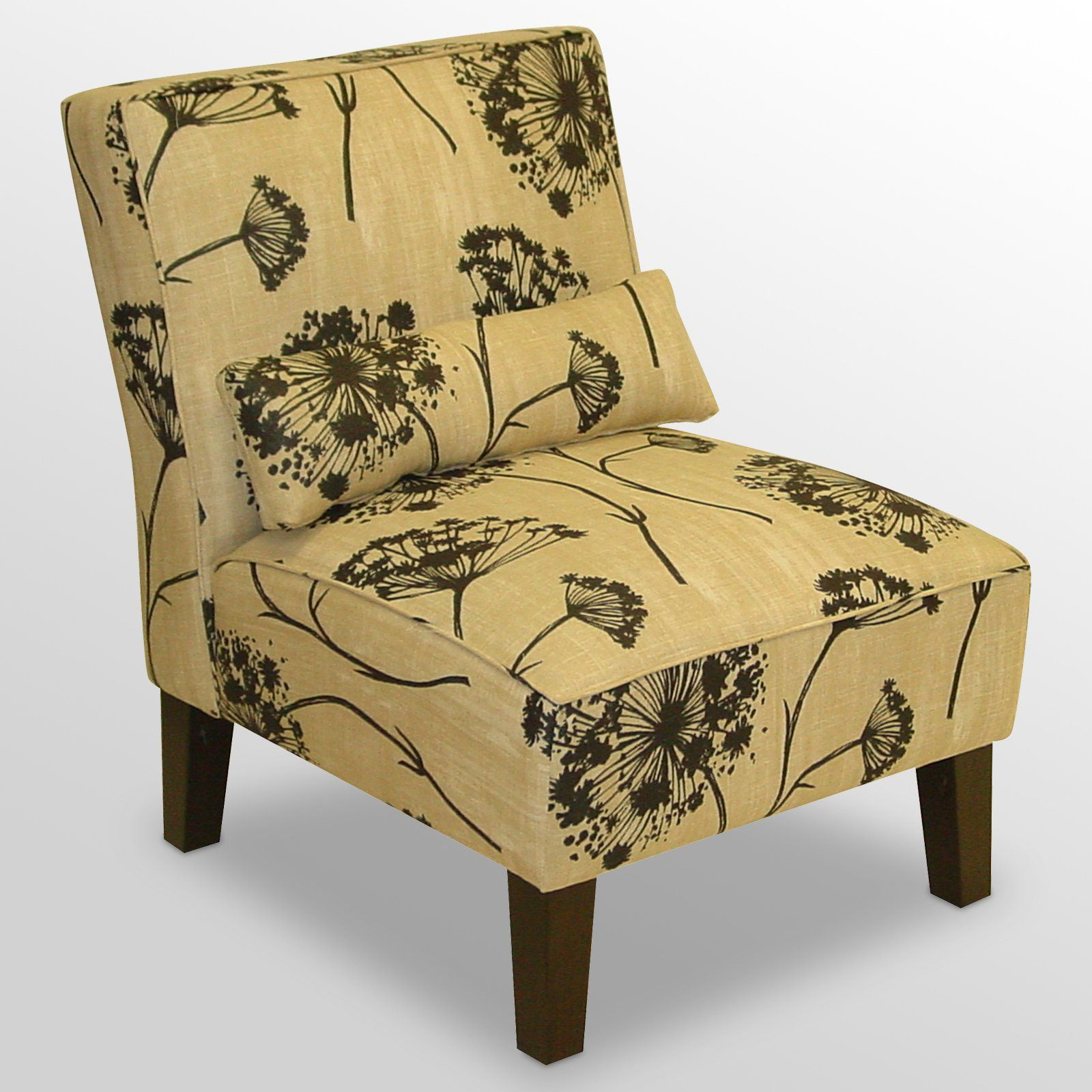 Best Have To Have It Lace Beige Armless Chair 245 Armless 400 x 300