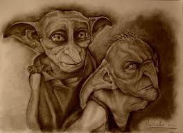 Image result for dobby and kreature