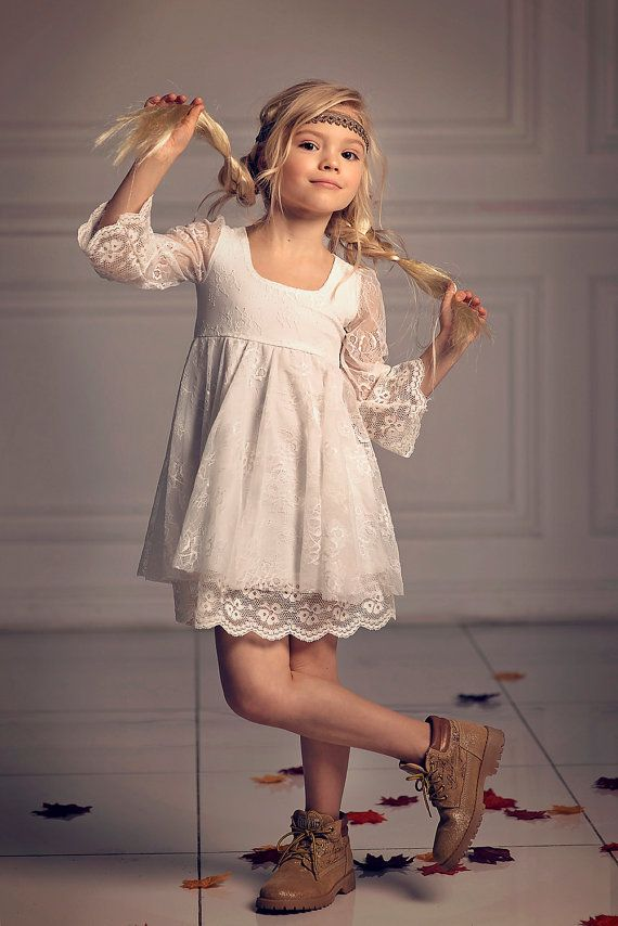 Girls lace dress first communion dress flower girl off white lace girls christmas dressfirst communion dressflower girl off white lace dressboho chic girls dressgirls toddlers lace dress free shipping mightylinksfo