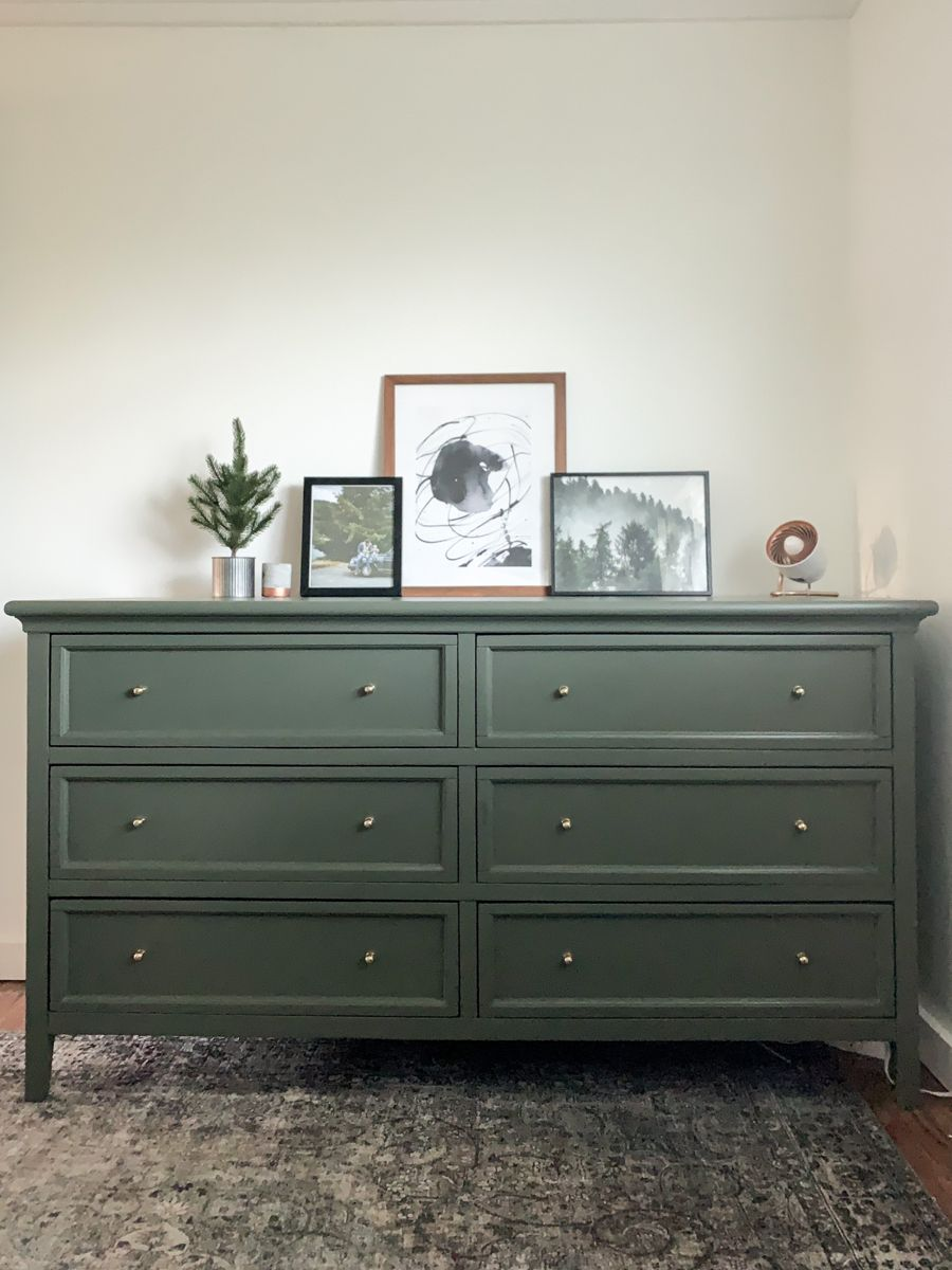 Olive Green Dresser Green Dresser Dresser Decor Boys Room Decor [ 1200 x 900 Pixel ]
