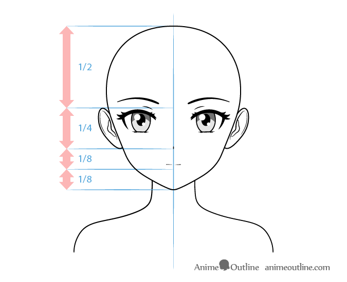 Anime Tsundere Female Character Face Drawing Anime Character Drawing Anime Face Drawing Anime Drawings