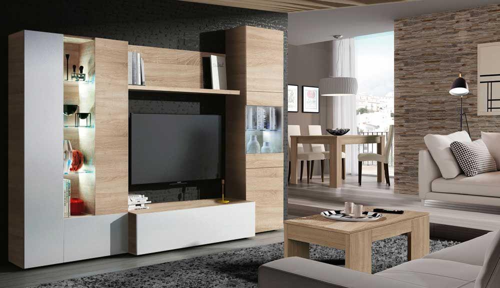 Conjunto salón comedor muebles kit modelo High #salón #comedor ...