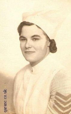 British army nurse.