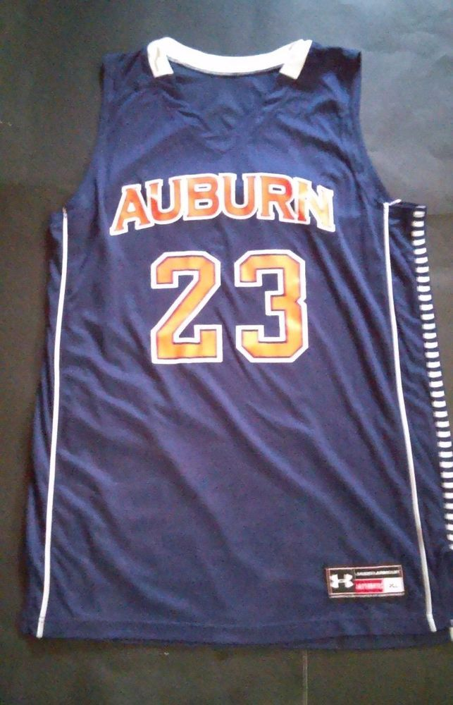 Men S Auburn Tigers Xl Basketball Jersey 23 Under Armour