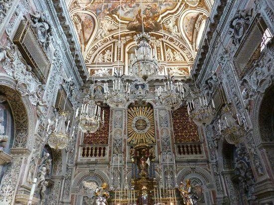Chiesa di santa caterina d 39 alessandria d 39 egitto un for Arredi interni san giuseppe vesuviano
