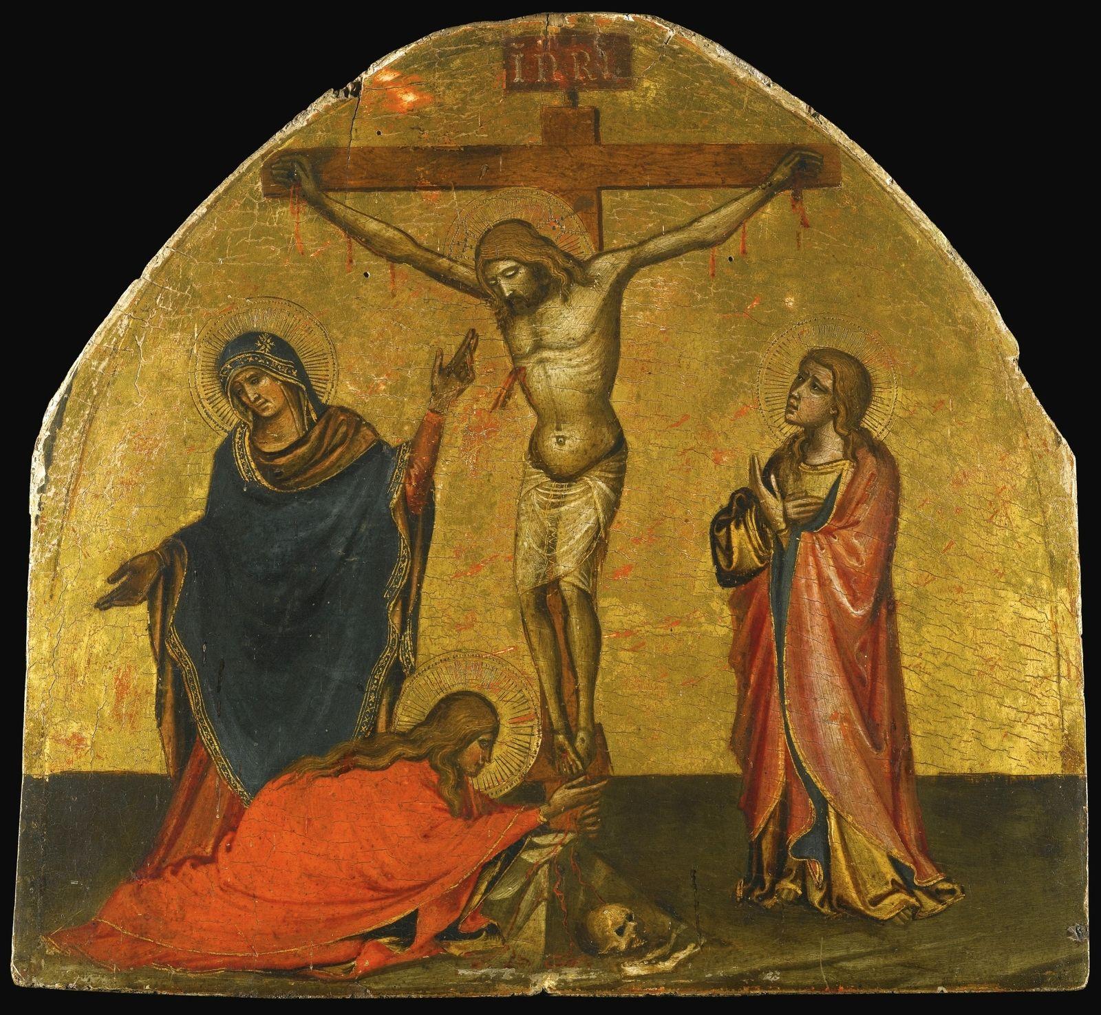 Мария Магдалина оплакивает смерть Спасителя Иисуса Христа