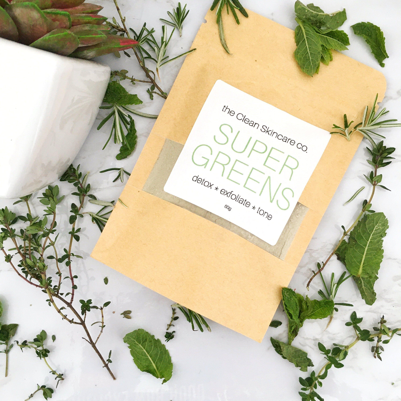 Super Greens/ Vegan Face Mask/ Matcha Tea/ Skin Care/ Bath