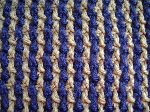 Interlocking Crochet™ - Rows & Columns - YouTube
