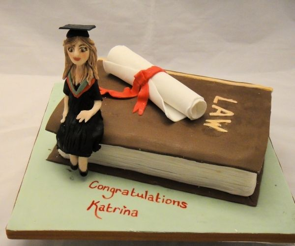Law Graduation Cake Idea Book If Highschool Indread