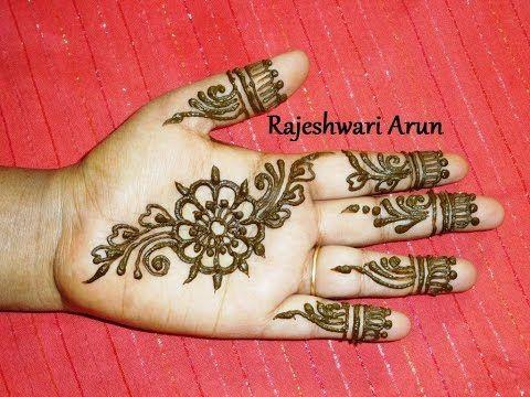 Simple Mehndi For Right Hand : Hqdefault.jpg 480×360 henna designs pinterest arabic mehndi