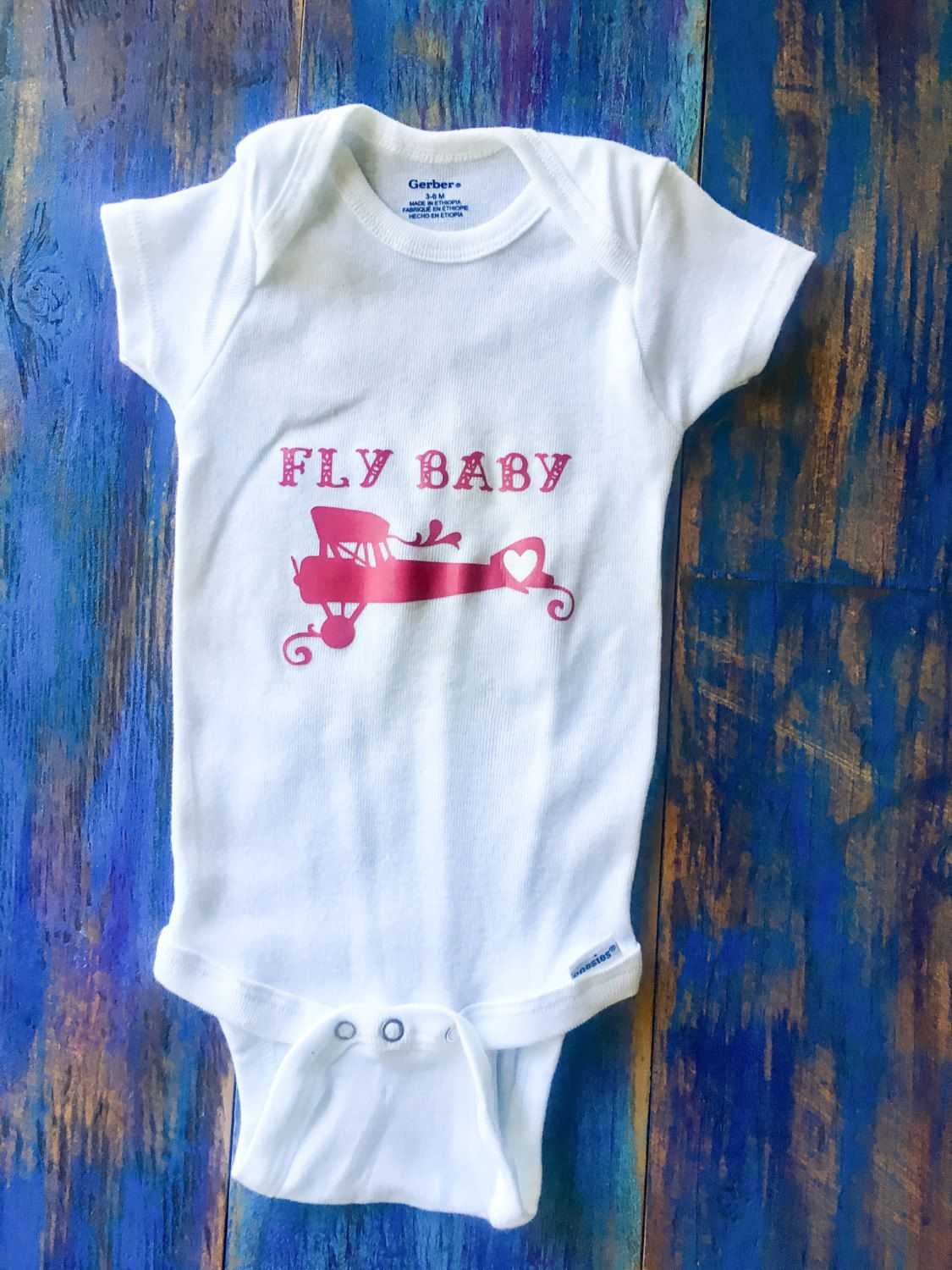 Fly Baby Onesie by ChristlesCreations on Etsy
