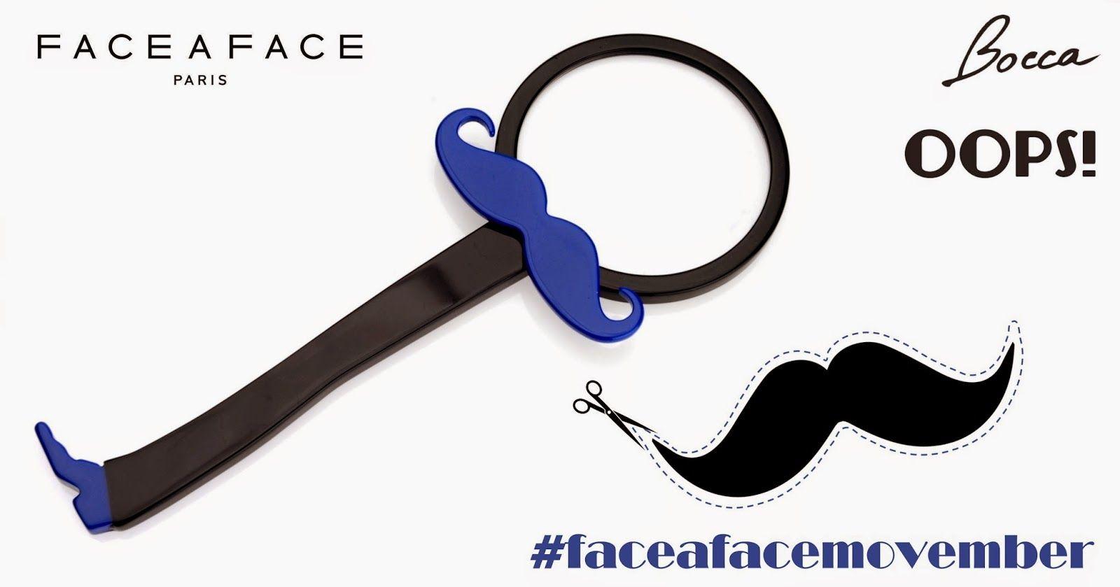 Le blog de FACE à FACE: #faceafacemovember : Let's grow your mustache ! #movember #contest