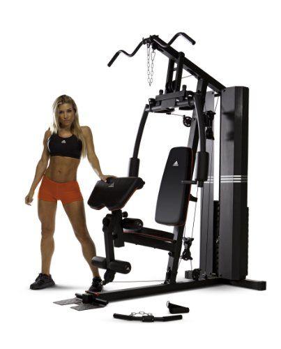 béisbol cobertura Torpe  Adidas 200 Pound Stack Home Gym | Multi gym, Home gym, At home gym