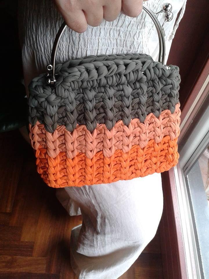 Bolso creado por Laura Delilabags Delli Carri | Crochet bags ...
