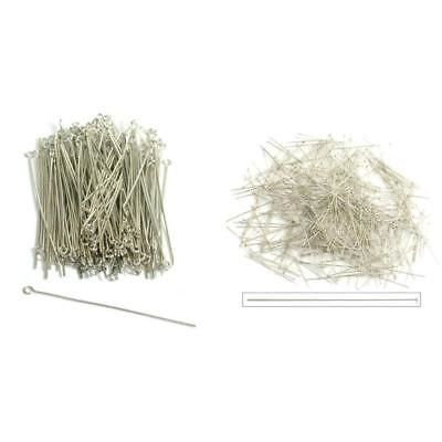 Pins and Needles 67712 White Treated Brass Eye Pins And Silver - ebay spreadsheet