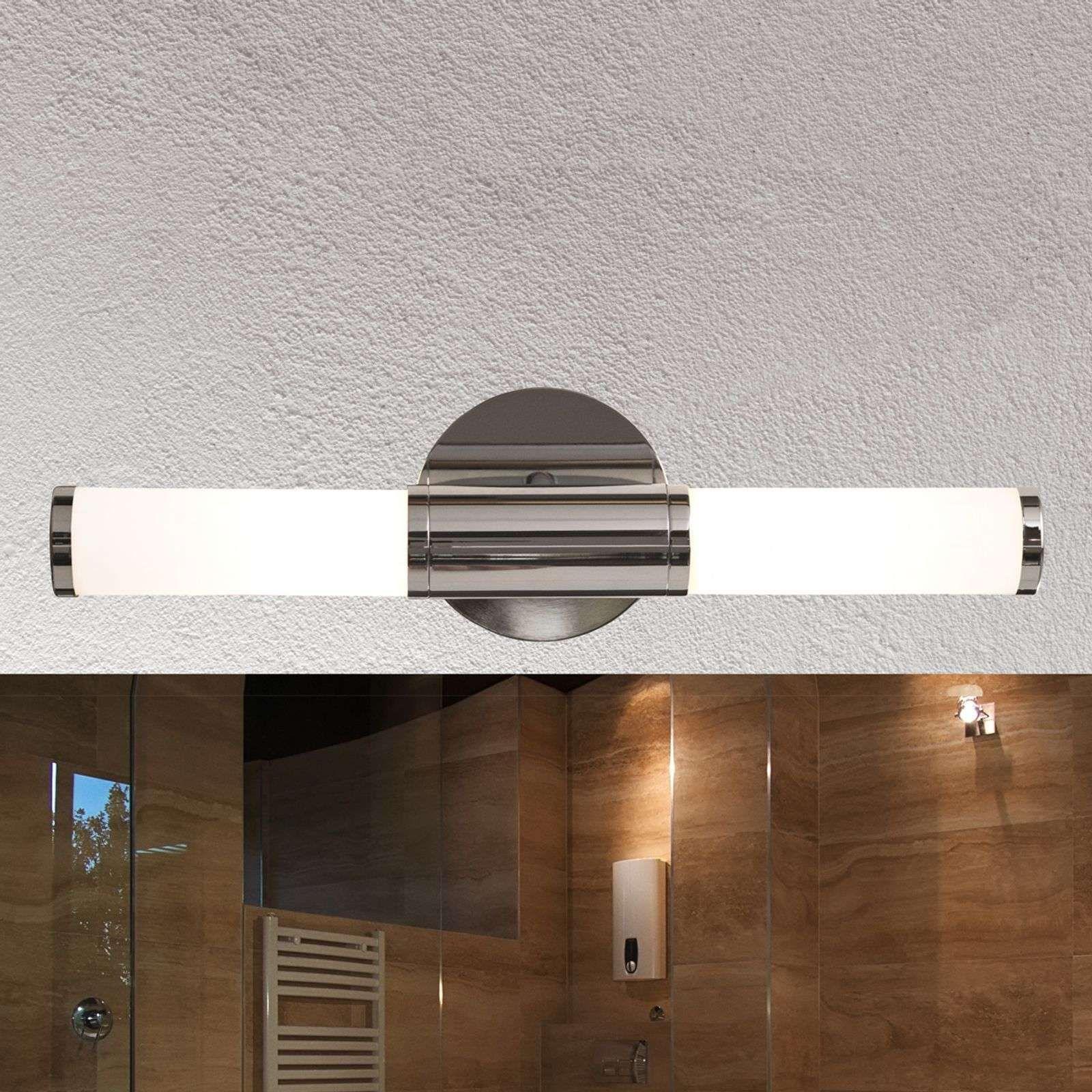 Wandleuchte Palmo 2 Flammig Chrom Wandleuchte Badezimmerspiegel Wandlampe