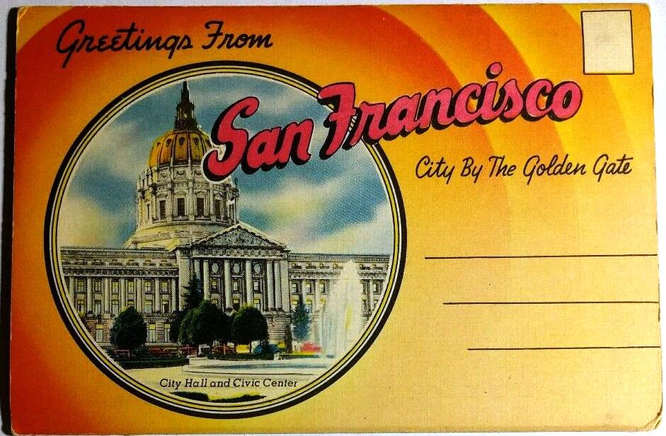 Greetings from san francisco san francisco ephemera vintage greetings from san francisco m4hsunfo