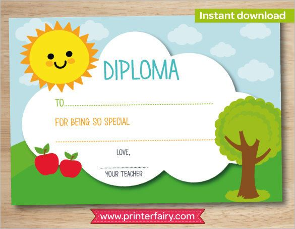 Image Result For Preschool Diploma Template Design Inspiration