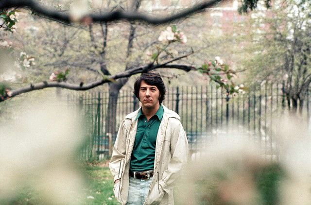 Dustin Hoffman photographed in Central Park by JP Laffont, 1972