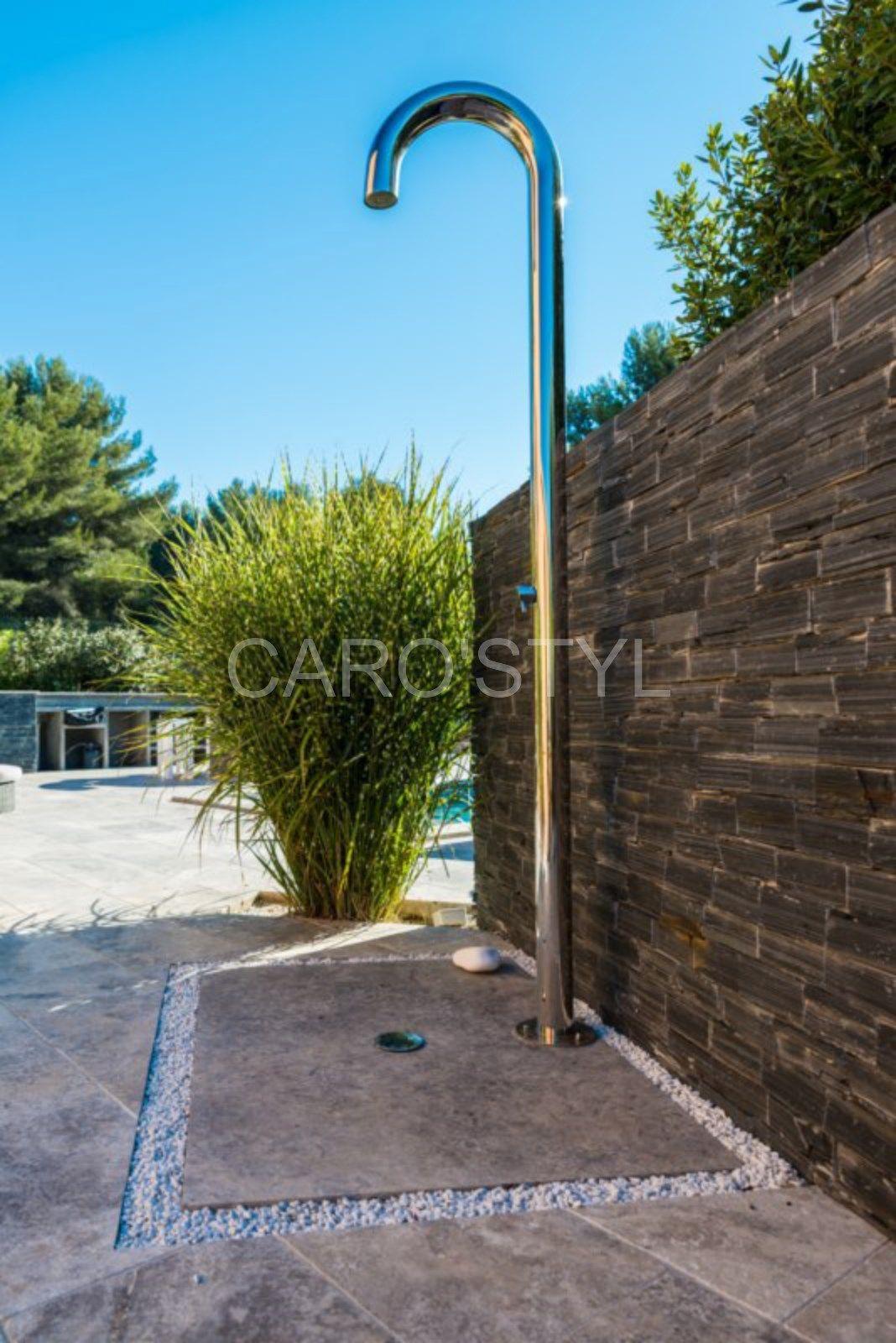 bac a douche en pierre naturelle carrelage et salle de bain la seyne var caro styl mat riel. Black Bedroom Furniture Sets. Home Design Ideas