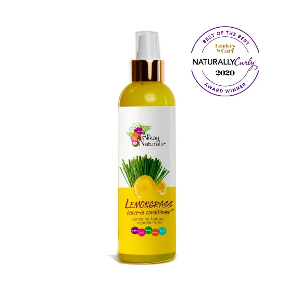 Alikay Naturals Lemongrass Leave In Conditioner ( 8 oz